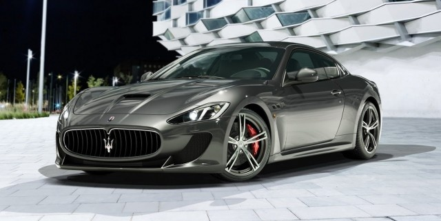 The new four-seat Maserati GranTurismo MC Stradale coupe