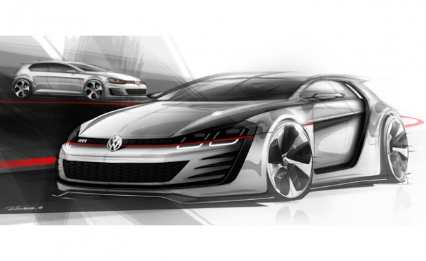 VW Design Vision GTI Powered with 503-HP