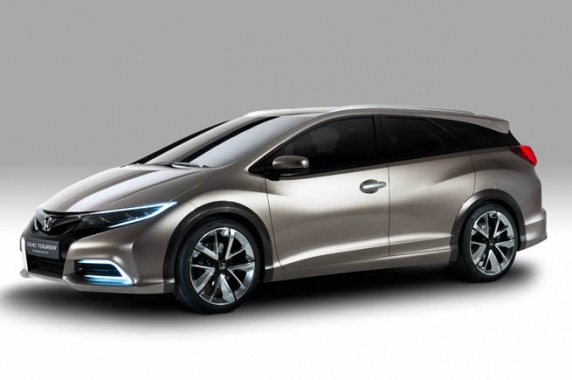 Honda Releases Civic Wagon for Europe only