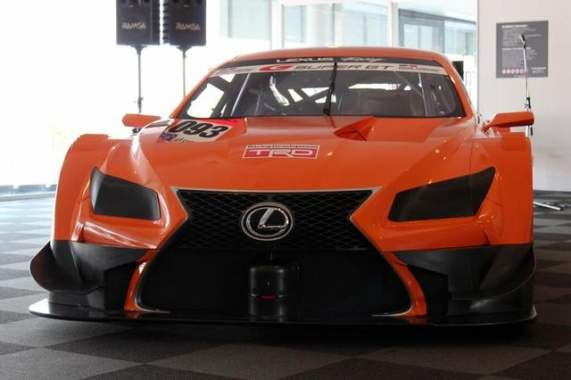 Lexus LF-CC will Take Part in Japanese Super GT Series