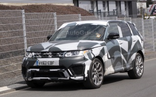 Range Rover Sport Noticed Diagnosing, Probably RS Version