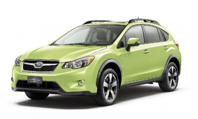 XV Crosstrek hybrid debut at New York auto show