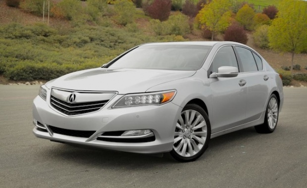 Acura RLX Called Back Because of the Problem with its Headlamps