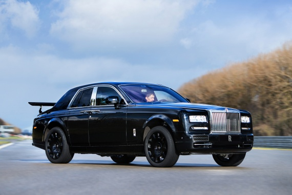 Ridiculous Rolls-Royce SUV Mule