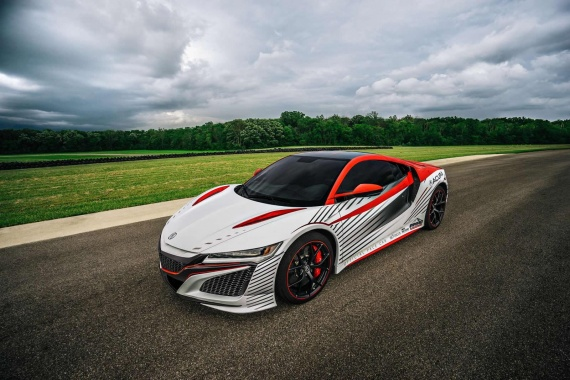 Meet the 2016 Acura NSX Pace Vehicle for Pikes Peak