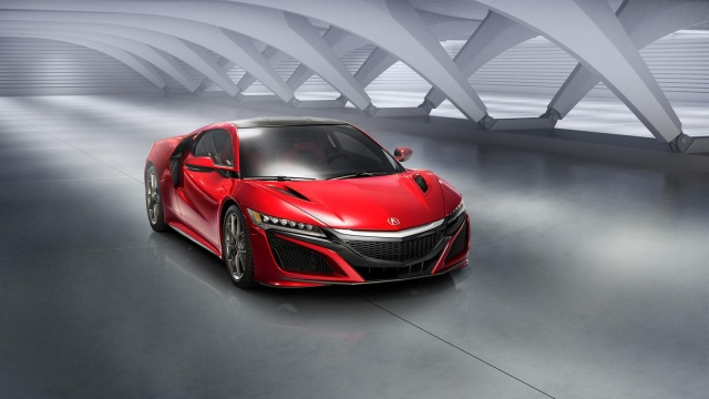 Acura NSX will come out only Next Spring