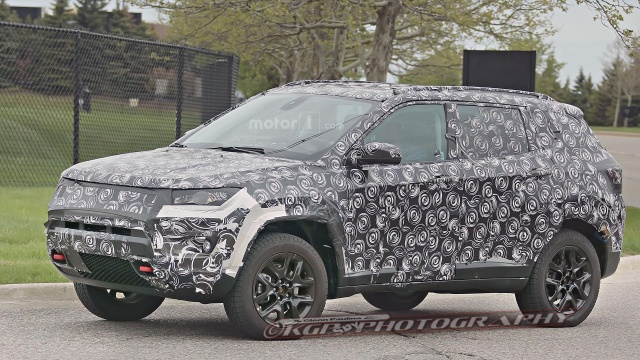 Trailhawk Guise of Jeep Compass and Patriot Replacement