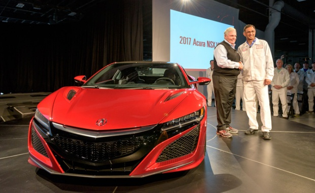 The 1st 2017 Acura NSX Has been Finally Produced