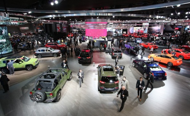 Chrysler And The Auto Show In Detroit