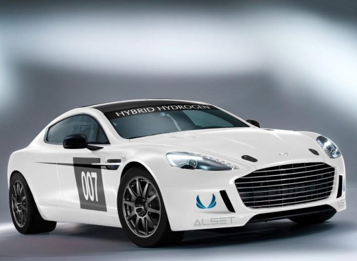 Aston Martin Wants To Be All Hybrid/Electric