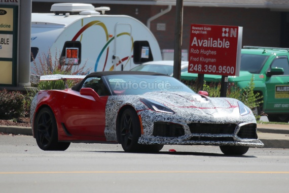 Carbon Fibber And Big Wings: The New Corvette