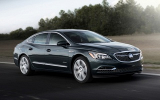 The luxury sedan Buick LaCrosse Abner gets a price