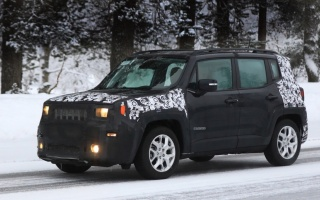 Crossover Jeep Renegade will be update this year