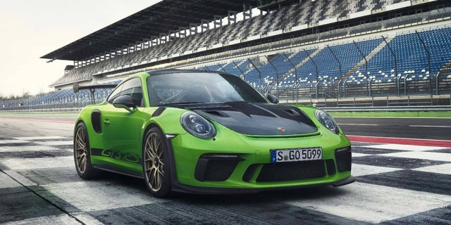 Porsche introduced the updated 911 GT3 RS