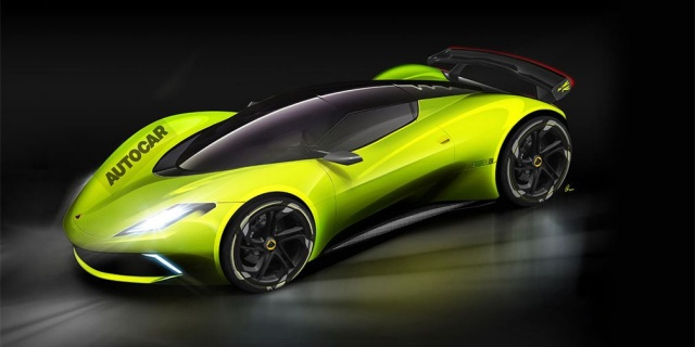 Lotus will produce an electric hypercar priced at more than 2 million euros