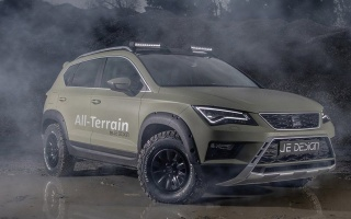 Seat Ateca got the off-road version