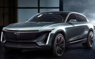 Shows the photo of the first Cadillac electric car