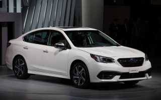 Subaru Legacy 7th generation debuts in Chicago