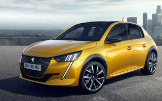 Peugeot 208 hatchback officially became an electric car