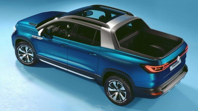 Volkswagen will provide inexpensive and practical pickups