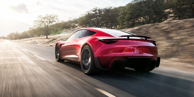 The new Tesla Roadster will have a 1000-kilometer power reserve