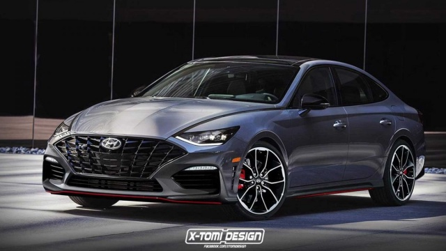 X-Tomi Design shows how 'hot' Hyundai Sonata can be