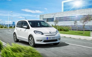 The first Skoda electric car has shown