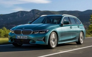 The new BMW 3-Series wagon was declassified ahead of time
