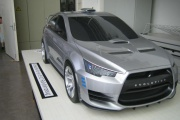 Lancer Evolution Concept-X rally
