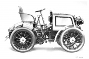 23HP La Turbie Rennwagen