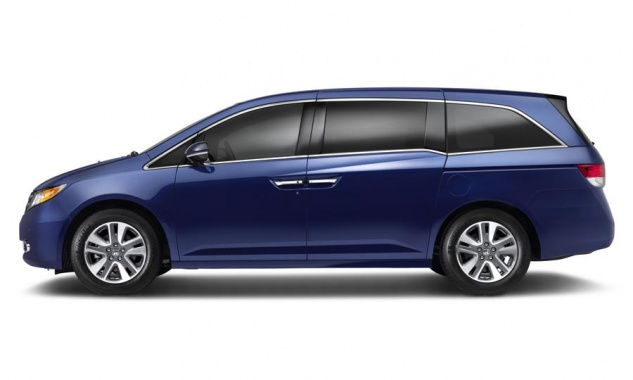 New Honda Odyssey arrives at New York auto show