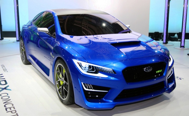 The New York Show hero: Subaru WRX Concept