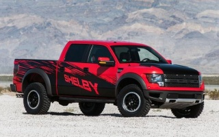 Shelby Raptor pickup was unveiled at New York auto show