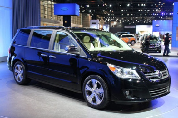 VW Routan minivan is going to be removed from production