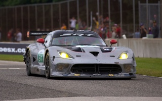 Viper Conquers 1st Race a Year After Comeback to ALMS