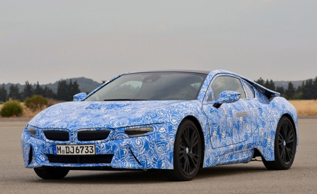 BMW Believes U.S. to be the Biggest Market for i8 Sports Vehicle