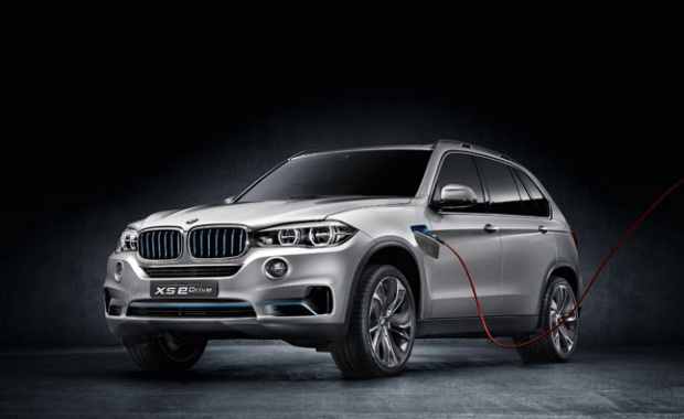 BMW X5 eDrive Plug-in Hybrid Concept Uncovered