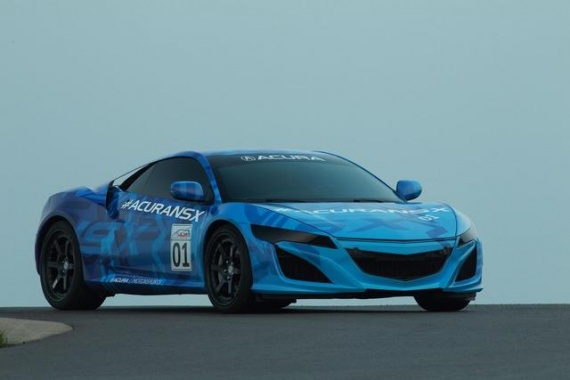 Acura NSX Prototype: Fresh Exclusive Pictures
