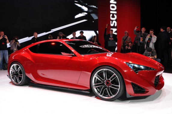 Scion FR-S will Receive Additional Power From Bigger Motor