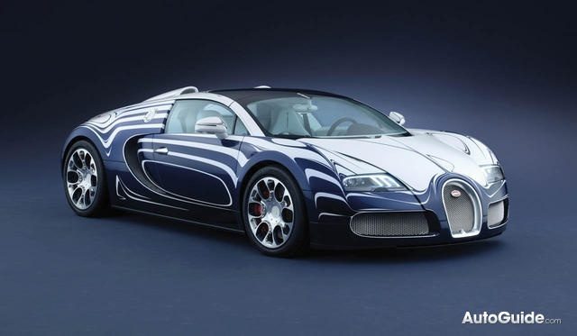Bugatti Veyron Grand Sport L'Or Blanc: Made of Porcelain, Much Faster Than a Tea Pot