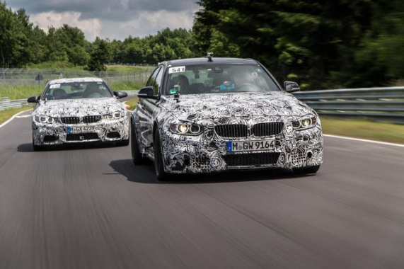 2014 BMW M3, M4 to Provide 430-HP, Cut 200 Pounds