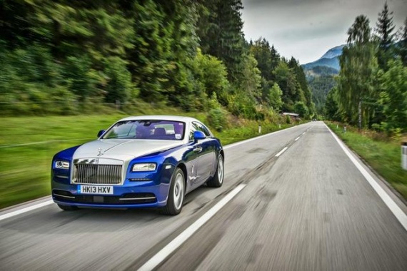 Rolls-Royce Wraith Shown in Fresh Pictures