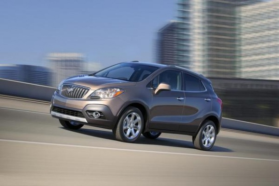 Buick Mulls Large Motor for Encore