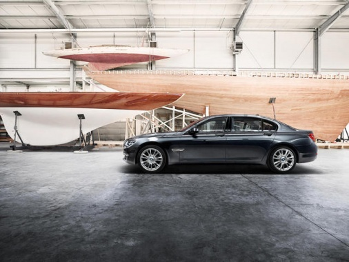 BMW Individual 760Li Sterling Decorated in Silver