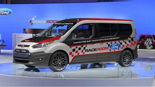 Ford Claims Vans Are Cool, Tries to Justify it at SEMA Show