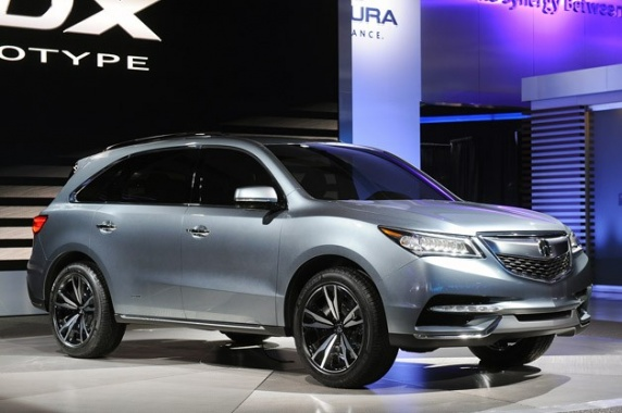2014 Acura MDX and RDX Reach Top NHTSA Accident Ratings