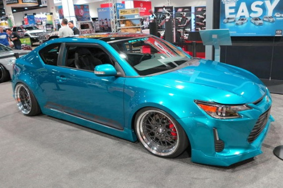 Tacky tCs Aimed to Win Scion Tuner Challenge