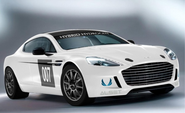 Aston Martin Hydrogen-Hybrid to Compete at 24 Hrs of Nurburgring
