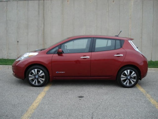 Nissan Leaf Can Provide Power for You