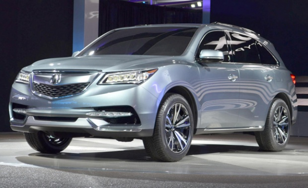 2014 Acura MDX Approved for NY Car Show Premiere